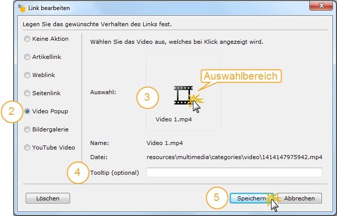 Adding Video Pop-up